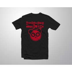 Camiseta Logo Oso Panda Red...