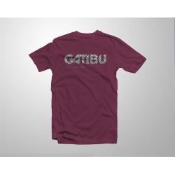 T-Shirt Logo Letrak - Burgundy