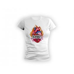 Fitted Tshirt Logo Bihotza...