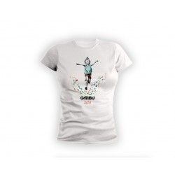 Fitted Tshirt Logo Salto -...