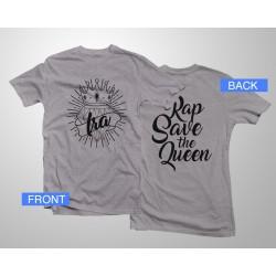 Camiseta Logo RSTQ - Gris