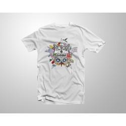 Camiseta Aske Maitte - Blanca