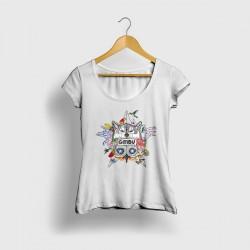 Fitted Tshirt Aske Maitte -...