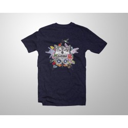 Camiseta Aske Maitte - Azul...