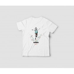 Camiseta infantil Salto -...
