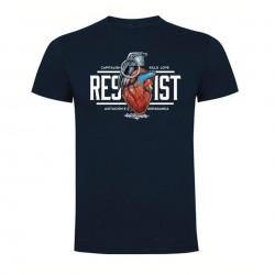 Camiseta Resist - Azul marino