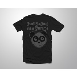 T-shirt Oso Panda - Black/grey