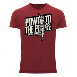Camiseta Power - Roja