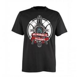 Tshirt REFUGEES - Black