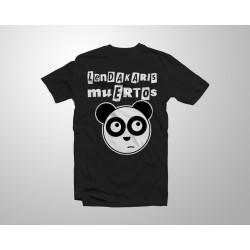 Logo Oso Panda - Negro