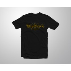 Camiseta Rap Queen - Negra