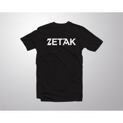 ZETAK kamiseta - Beltza