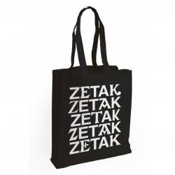 Totebag ZETAK - Beltza