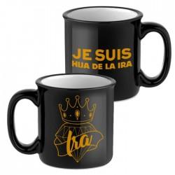 Vintage mug black - Je suis...