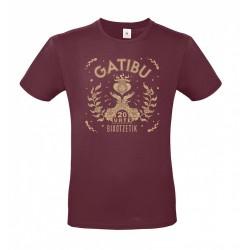 Camiseta Bixotzetik - Granate