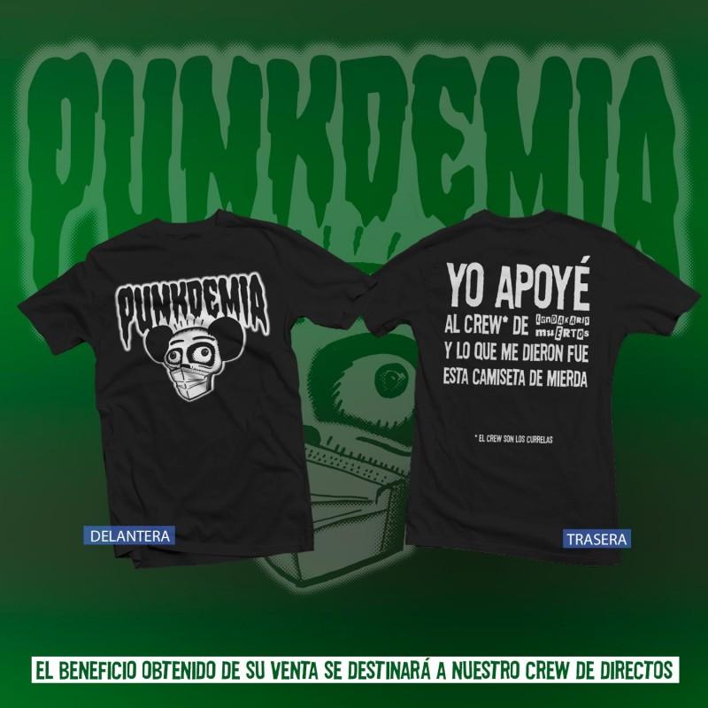 RESURRECTION FEST 2020 (1-4 / 7 /20) Camiseta-solidaria-punkdemia-negra