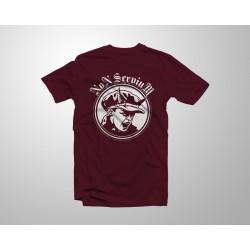 Camiseta Logo Niño - Granate