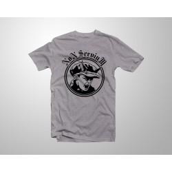 Camiseta Logo Niño - Gris
