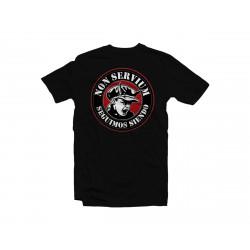 Camiseta Non Servium - Negro
