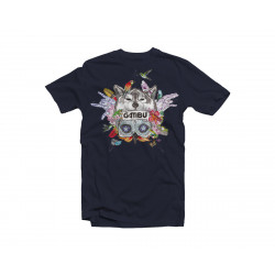 Camiseta Aske Maitte - Azul