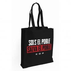 """Tote Bag KOP """"SOLS EL POBLE..."""