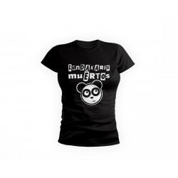 T Shirt Logo Oso Panda - Black