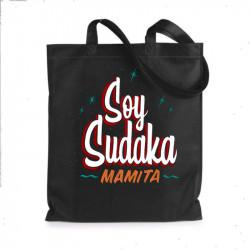 "Tote Bag ""Soy Sudaka"" - negro"