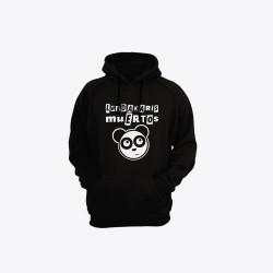 Sudadera Oso Panda - Negra