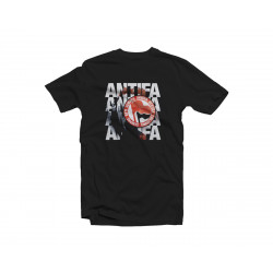 T-Shirt Antifa bengala - Black