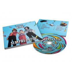 CD digipack El Bonsai Blau...