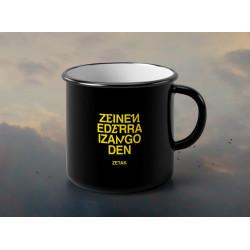 """Taza """"ZEID"""" - beltza"""