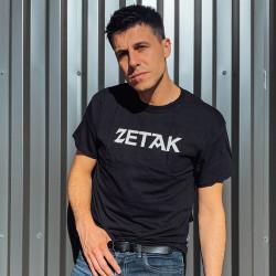 Tshirt ZETAK - Black